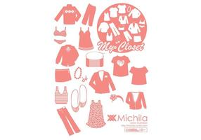 My Closet Fashion Vector Pack