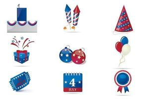 Fourth of July Vector Celebration Pack