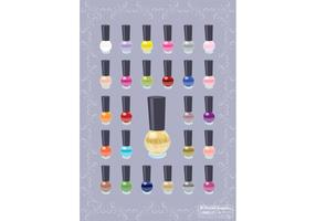 Nail-polish-color-vectors