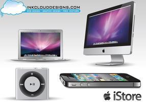 Apple Technology Vector Pack