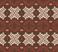 1950s Vintage Vector Pattern Design