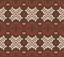1950-talet tappning vektor mönster design