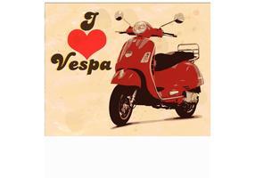 Ich liebe Vespa