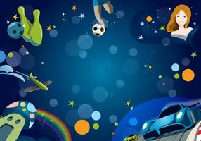 Game-background-vector