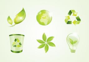 Eco Vector Logo Elements