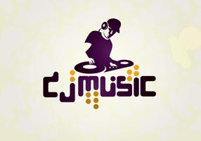 Dj-music-logo-vector