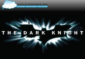 Mörk riddare logo