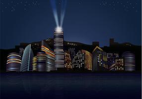 Noites da cidade Skyline