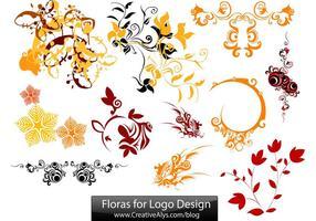Floras-for-logo-design