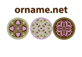 Free Ornament Vector Rosettes