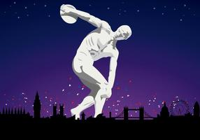 Olympia Discobolus in London 2012