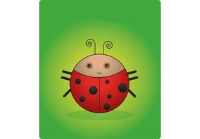 A-ladybug-vector