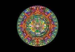 DECEMBER 21, 2012 Mayan Calendar Vector