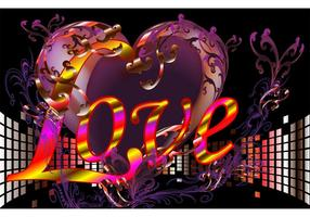 Love Vector Wallpaper