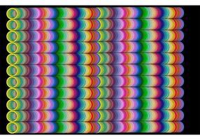 RAINBOW TUBE GRID - Abstract Rainbow Background Vector