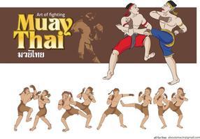 MuayThai Martial Arts Vector