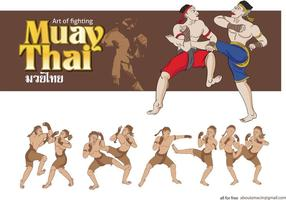 MuayThai Martial Arts Vector