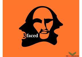 3Faced Facial Vector