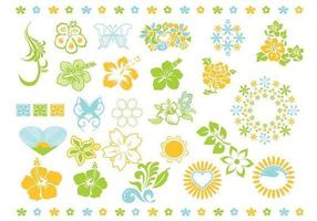 Summer Vector Flower Vector