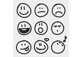 Free Vector of the Day #150: Sketchy Emotion Icons