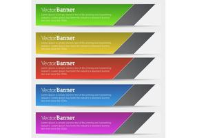 Vector Banners - Free Vector of the Day #154