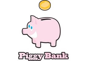 Piggy Bank Vektor