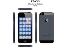 iPhone5 Free Vector for illustrator