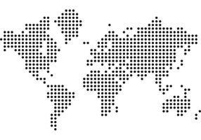 9 Stijlvolle Vector Wereldkaart Vector