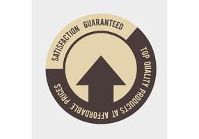 Free Vector of the Day #166: Satisfaction Guaranteed Stamp