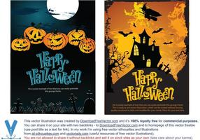 Vector-halloween-templates