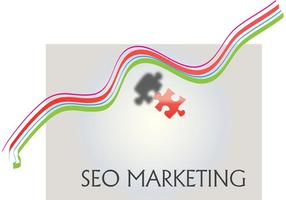 SEO Marketing Logo Vector Background
