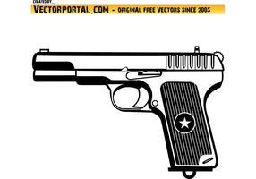 Gun Vektorbild