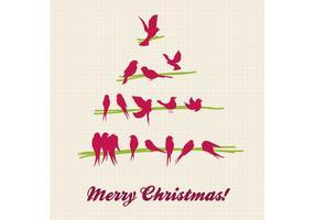 Christmas Tree Vector - Doodle Christmas Tree