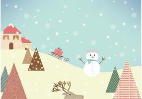 Vintervektor på berg