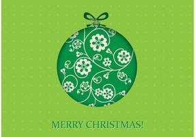 Green-christmas-vector-wallpaper