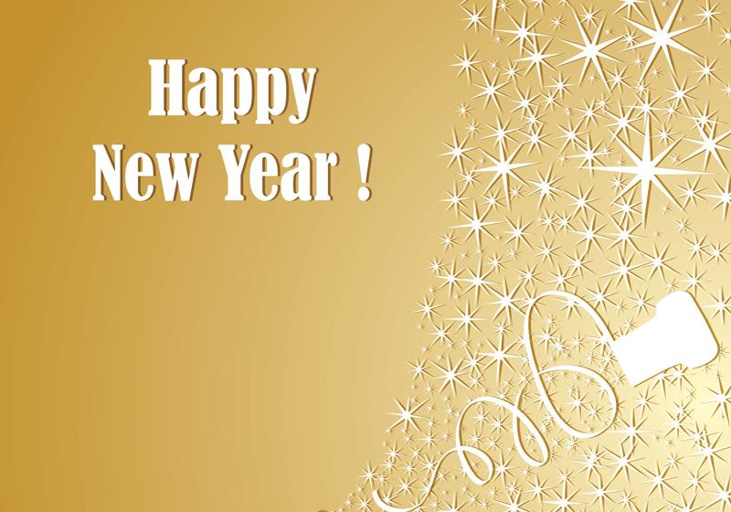 gold champagne new year vector wallpaper download free vector art stock graphics images