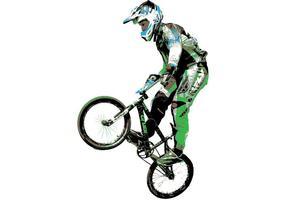 Tyler Brown BMX Vector Art