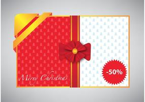 Merry-christmas-card-with-gift-ribbon
