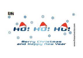Vetor livre vetor natal feliz natal