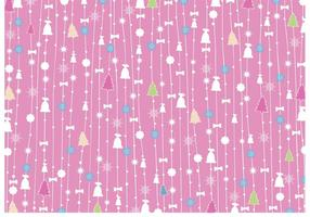 Vector-christmas-pink-background