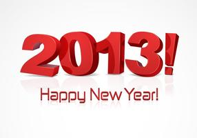 Happy-new-year-2013-vector-typography