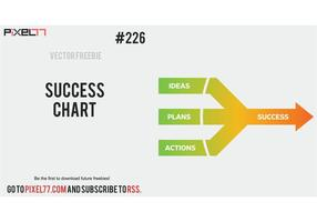 Success Chart Vector - Free Vector of the Day #226