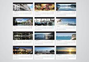 2013 Kalender Vector