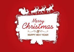 Christmas-logo-vector-frame