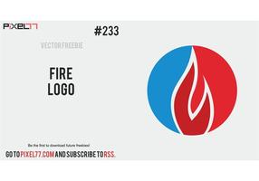 Fire Logo Vector - Free Vector of the Day #233