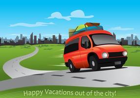 Vakanties buiten de stad