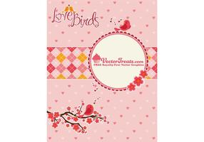 Valentine's Day Vector Love Birds