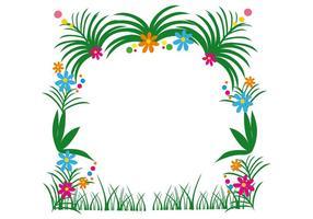 Blommig vektor dekoration