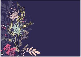 Bloemen Vector Achtergrond