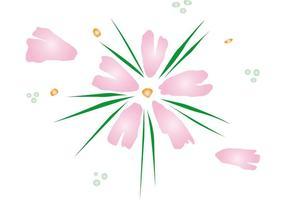 Vector de la flor de Japón